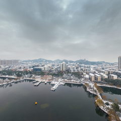 浪漫雪景—秀峰公园